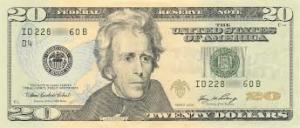 $20 (in my pocket)