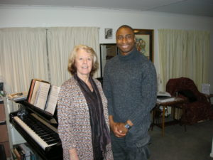 Jeanne- my singing teacher. She's a classically trained opera singer. There's another story behind how we met...